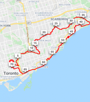 Tour de Scarborough 72 km